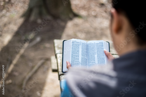 Reading the word of God the Bible