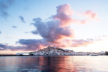 Views Of Ibiza From The Port