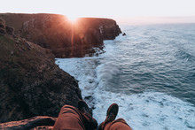 Watching The Sunrise Over South Africa's Wild Coast.