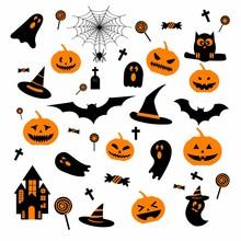 Happy Halloween Design Element...
