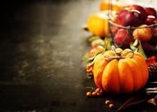 Pumpkin And Apples