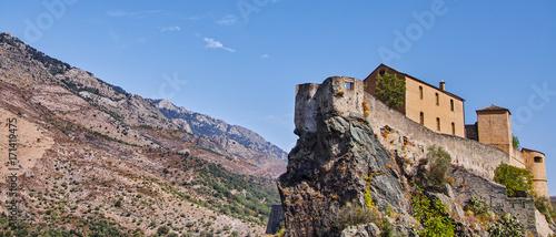 Fotografie, Obraz  Festung von Corte, Korsika