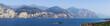 Panorama vom Gardasee, aufgenommen in  Brenzone.
