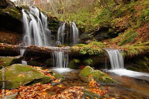 Wall Murals Waterfalls autumn waterfall