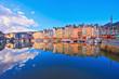 canvas print picture - Honfleur, Vieux bassin, Normandie