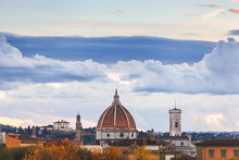 Florence Duomo Cityscape With ...