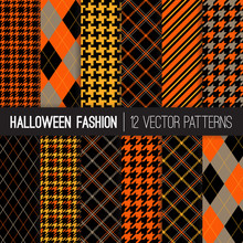Halloween Fashion Patterns In ...