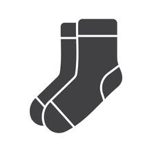 Warm Socks Glyph Icon