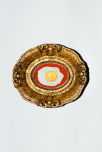 Framed Sunny Side Up Egg Embro...