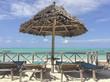 Tiki Beach hut on Island