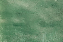 Texture Of A Green Grunge Wall