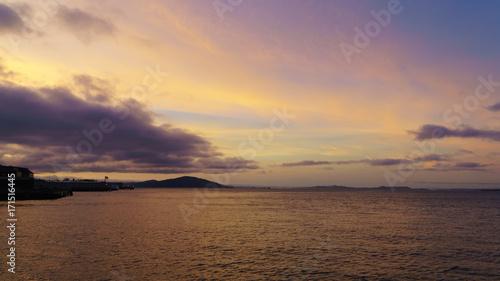 Papiers peints Corail Bay sunset