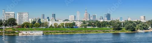Fototapeta Warszawa, panorama miasta obraz