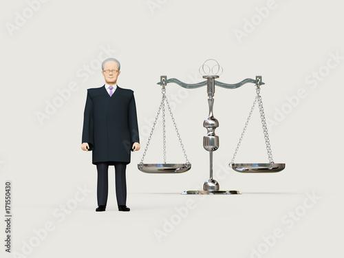 Fotografija  裁判官と天秤