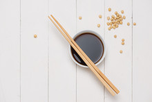Soy Sauce And Soy Bean With Ch...