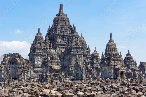 Deurstickers Bedehuis Indonesien, Java Tengah, Klaten, Sewu Temple, Buddhistischer Tempel