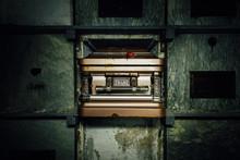 Decrept Coffin - Abandoned Mausoleum