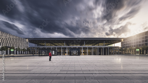 Obraz na płótnie BER Airport Berlin Schoenefeld