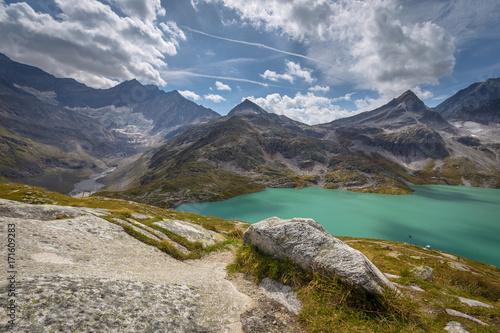Fotografie, Obraz  Weiss See Weißsee Gletscherwelt Austria