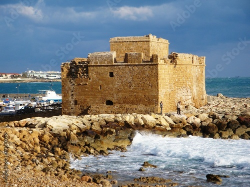 Old Fortress in Paphos, Cyprus Poster