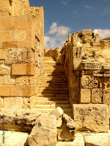 Ruin of ancient Kourion, Limassol District, Cyprus Poster