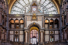 Station Of Antwerp, Belgium