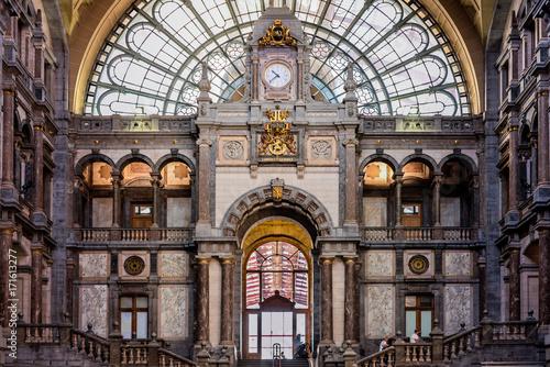 Station of Antwerp, Belgium