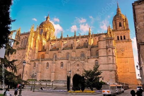 Salamanca old Cathedral, Spain