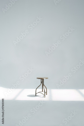 Astounding One Metallic And Adjustable Stool In The Studio Buy This Pabps2019 Chair Design Images Pabps2019Com