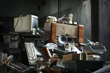 Old Electronic Things In The Heap