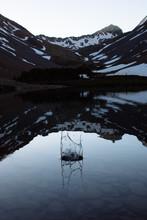 Splash At Mountain Lake
