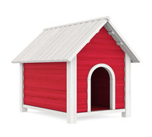Doghouse Isolated