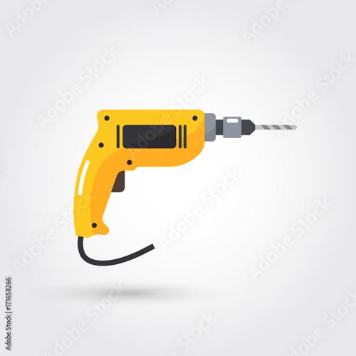Stampa su Tela hand drill icon