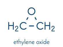 Ethylene Oxide (oxirane) Molec...