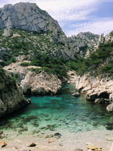 Mobile Image Of Calanques Near Marseille And Cassis In South Of France