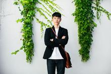Portrait Of An Asian Businessm...