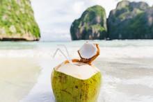 Close-up Of Coconut Exotic Dri...