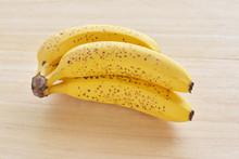 バナナ 木目背景