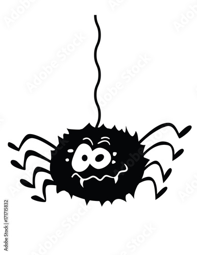 funny spider! Canvas Print