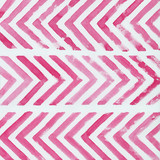 Abstract geometric watercolor background with chevron stripes - 171720430