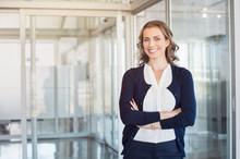 Successful Mature Businesswoman