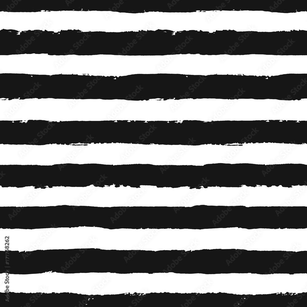 Fototapeta Stripes Pattern from Brush Strokes