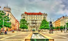 Moravske Namesti, A Square In ...