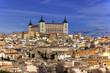 Panorámica de la ciudad de Toledo, España