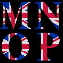 The Great British Alphabet M,N,O,P