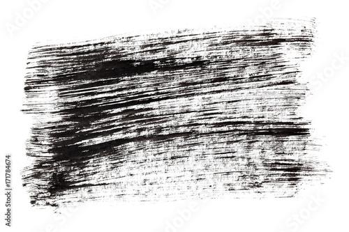 Fotografie, Obraz  Black ink hatched texture