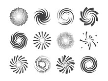 Spiral And Swirl Motion Twisti...