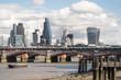 City of London skyline from near Southwark Bridge