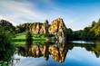 Leinwandbild Motiv Mirror Lake