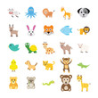 Animals Colored Vector Icons 2